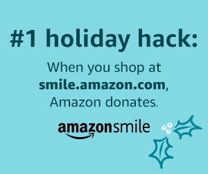 amazon shopping donation graphic